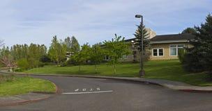 Rural school district Oregon. Stock Photos