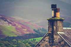 Rural Scottish Home Stock Images