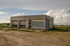 Rural Service Station Stock Image