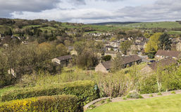 Rural setting of Pateley Bridge in North Yorkshire, England, UK. Royalty Free Stock Photo
