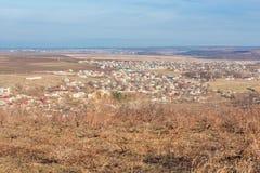 Rural settlement Stock Photos