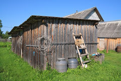 Rural shed Royalty Free Stock Image