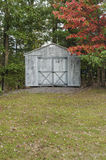 Rural Shed Early Autumn Royalty Free Stock Photos
