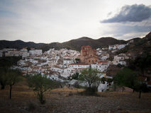 Rural Spanish Town of Lubrin in Andalusia Stock Photo