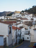 Rural Spanish Village of Lubrin in Adalusian Region of Spain Royalty Free Stock Photo