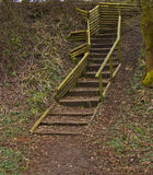 Rural steps Stock Photography