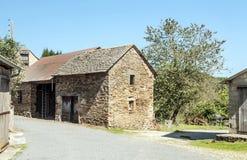 Rural Street in France Stock Image