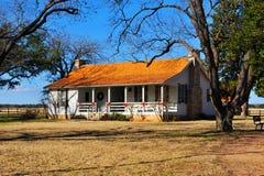Rural suburban house. In Texas stock photography