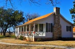 Rural suburban house. In Texas stock photos