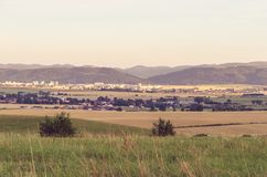 Rural summer landscape. Stock Photos