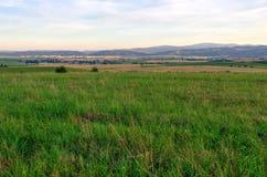 Rural summer landscape. Royalty Free Stock Image