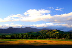 Rural Sunset (13). Rural Sunset New Zealand, 200711 Stock Image