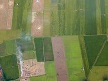 Rural sur arrière-pays pour le secteur d'agriculture photo libre de droits