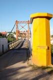 Rural Suspension Bridge Royalty Free Stock Image