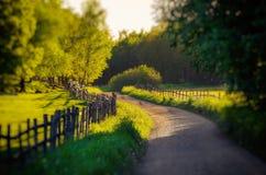 Rural Sweden landscape Stock Photo