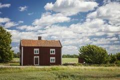 Rural Swedish farmhouse Stock Photos