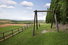 Rural swing Stock Images