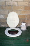 Rural  toilet bowl Stock Photography