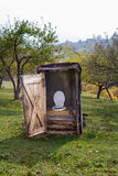 Rural toilet Royalty Free Stock Photo