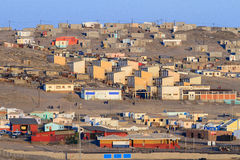 The rural township of Luderitz, Namibia. Lüderitz is a harbour town in southwest Namibia, lying on one of the least hospitable coasts in Africa. It is a port royalty free stock photos