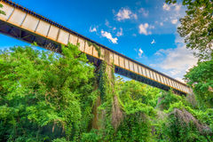 Rural Train Trestle Stock Photography