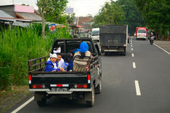 Rural transport, Bali, Indonesia Royalty Free Stock Images