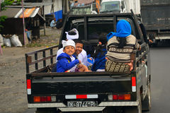 Rural transport, Bali, Indonesia Stock Photos
