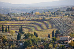 Rural Tuscany Royalty Free Stock Photos