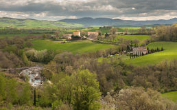 Rural Tuscany Royalty Free Stock Photography