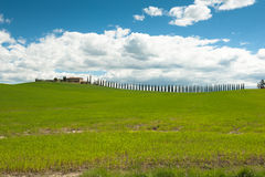 Rural Tuscany Royalty Free Stock Images