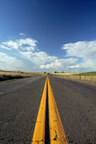 Rural Two Lane Road Stock Images