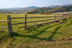 Rural Ukraine. Rural scene of Carpathians, Ukraine Royalty Free Stock Photography