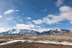 Rural Utah Stock Image