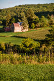 A rural valley farm Royalty Free Stock Photography