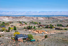 Rural Valley in Grand Junction, CO Stock Images