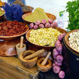 Rural vegetables market, Provence Royalty Free Stock Photography