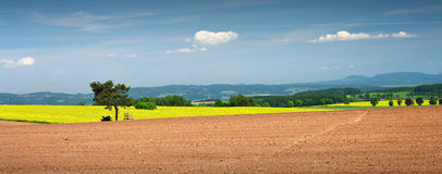 Rural view Stock Images