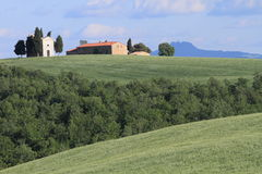 Rural view in Tuscany Royalty Free Stock Images