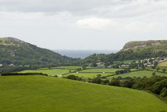 Rural view in Wales Stock Photography