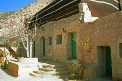 Rural village, Dana, Jordan Royalty Free Stock Image