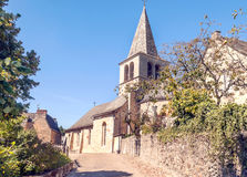 Rural village in France Stock Photos