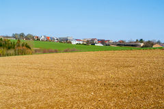 Rural village in Hohenlohe Royalty Free Stock Image