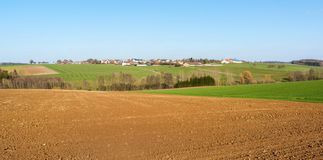 Rural village in Hohenlohe Stock Photo