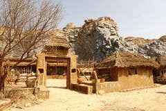 Rural Village home Rajasthan India Stock Photography