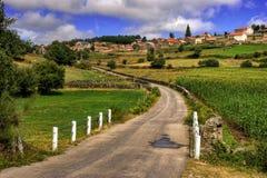 Rural village of Lamas de Olo in Vila Real stock photography
