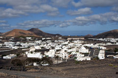 Rural village in Lanzarote Royalty Free Stock Photo