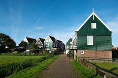 Rural village of Marken Royalty Free Stock Image