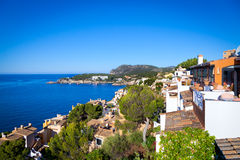Rural Village in Paguera, Cala Fornells, Majorca. Rural Village in Paguera, Cala Fornells, Mallorca, Spain stock image
