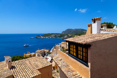Rural Village in Paguera, Cala Fornells, Majorca. Spain stock photography