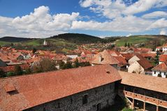 Rural village in Romania Royalty Free Stock Photo